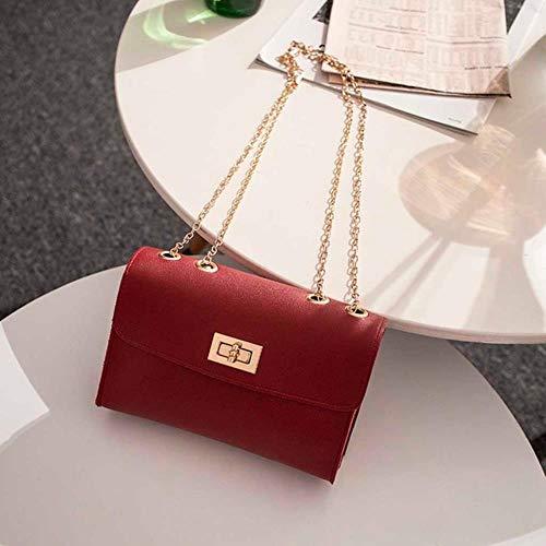 SYART Britse mode eenvoudige kleine vierkante tas dames designer handtas pu-ketting gsm-schoudertassen
