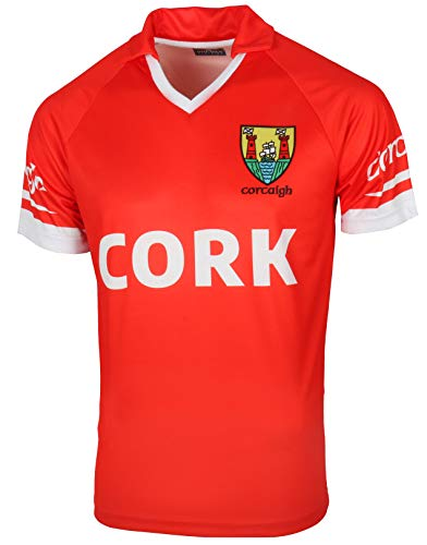Malham Irish Gaelic Football Jersey GAA Ireland Cork Replica Gaelic Jersey X-Large