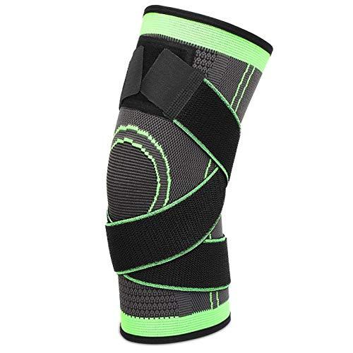 Deansh Rodilleras Protectoras Protector de Rodilla de compresión para Deportes al Aire Libre, Protector de Rodilla Transpirable de poliéster, para Deporte, Carrera, Senderismo,(Sports Knee Pads)