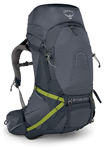 Osprey Atmos AG 50 Sac à Dos pour Homme Gris Abyss Taille M