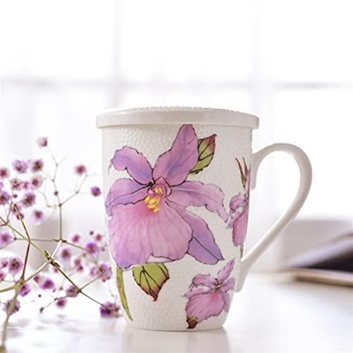 Theekopjes British Pastoral Bone China Tea Cup Saucer Pot Set Romantische Keramische Koffiekopje Porselein Teacup…