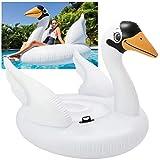 Intex Mega Swan, Inflatable Island, 76.5' X 60' X 58'