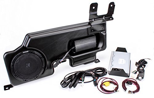 Kicker PF150SC15 PowerStage Amp & Powered Sub Upgrade for 2015 Ford F-150 Super Cab/Crew w/ MyFord Radio
