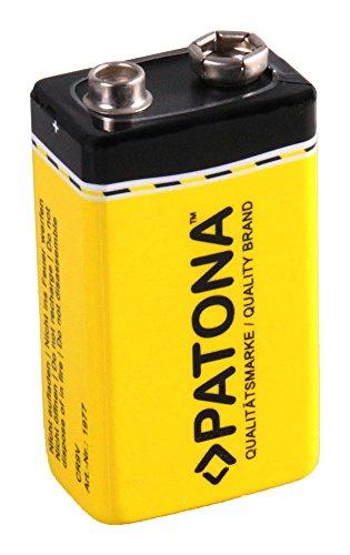 PATONA 9V blok lithium-ion batterij 6LR61 ER9V 1200 mAh voor rookmelder