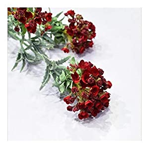 JiaQinHe Remains Snowball Flower Branch Wedding Home Decoration Flower Photography Props Fake Flower Flores Artificiais, 3 Heads/Branch Never