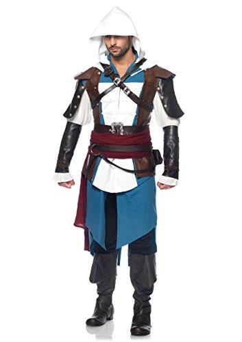 Leg Avenue Men's Assassin's Creed Edward Costume
