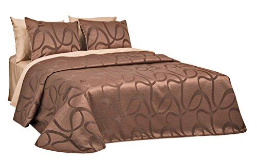 Ensemble de couvre-lit de luxe EMPRESS original Sei Design, couvre-lit 240x260 avec 2 taies d'oreiller 50x70 !!! seulement pour une courte période: 2x coussins décoratifs comme cadeau !!! Des rideaux peuvent être trouvés dans notre gamme.