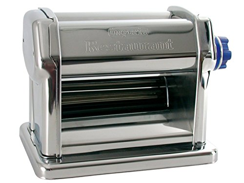 Commercial Grade Pasta Maker by Imperia - Machine for Home or Restaurant Use - Italian 18 10 Stainless Steel