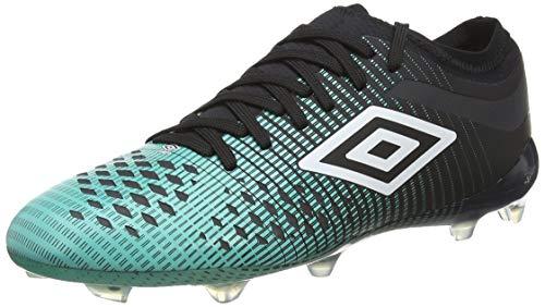 UMBRO Herren Velocita Iv Pro Fg Fußballschuhe, Grün (Black/White/Marine Green Gxv), 40.5 EU