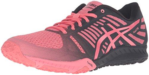 ASICS Women's FuzeX TR Cross-Trainer Shoe, White/Diva Pink/Mid Grey, 5 M US