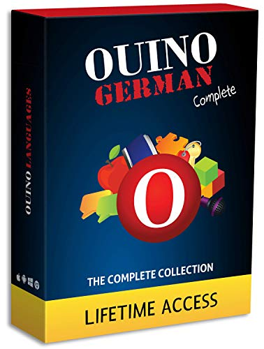 Learn German with OUINO: New Improved Edition v4 | Lifetime Access (for PC, Mac, iOS, Android, Chromebook)