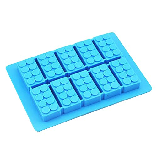 hangzhoushiJacob Elsie Eiswürfelform Wiederverwendbare Silikon Eiswürfelbehälter Form Kuchenform, Eisform, Geburtstag DIY Form BPA Frei, LFGB Zertifiziert(Blau)
