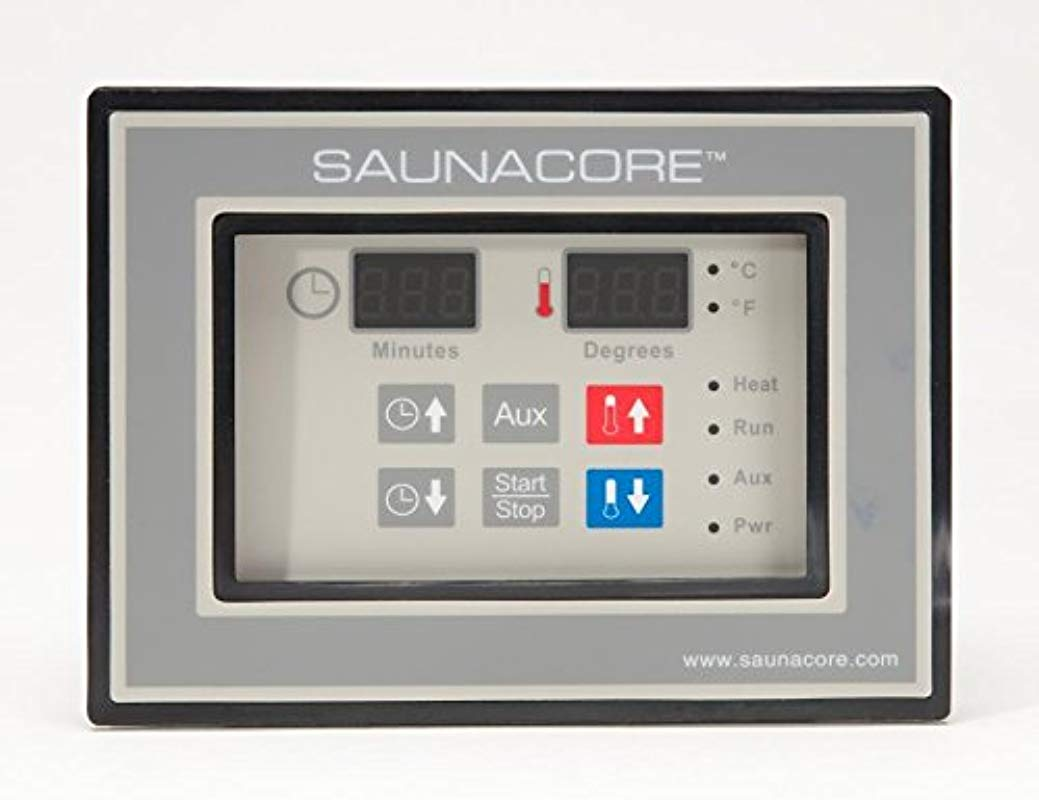 Digital Sauna Controller Timer With Aux Controls 220 VAC