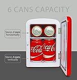 Coca-Cola-KWC4-Mini-Kühlschrank - 5