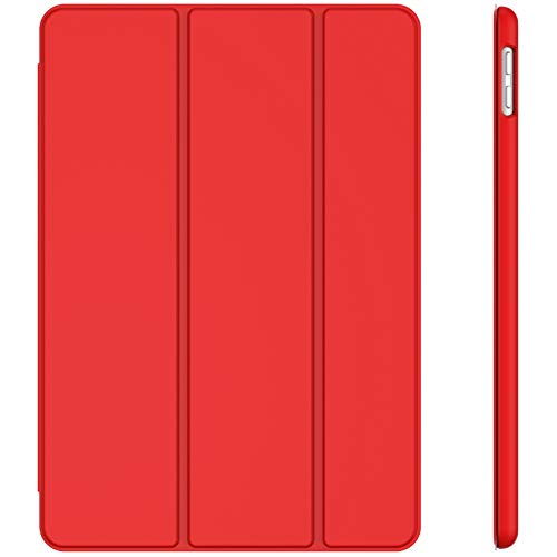 JETech Case for iPad 8/7 (10.2-Inch, 2020/2019 Model, 8th / 7th Generation), Auto Wake/Sleep, Red