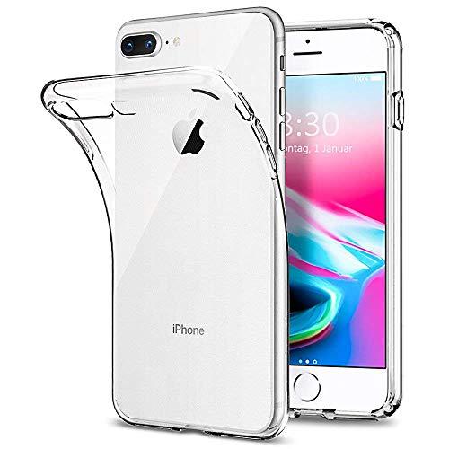 Yichxu iPhone 7 Hülle, Crystal Clear Silikon Handyhülle für iPhone 8, Weiche TPU Durchsichtige Schutzhülle Ultradünn Case Cover für iPhone 7/8 4.7