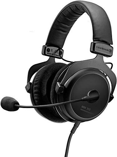 beyerdynamic MMX 300 Premium geschlossener Over-Ear Gaming-Headset (2nd Generation) mit Mikrofon, geeigneter Kopfhörer für PS5 Konsole, XBOX Series X, PC, Notebook (schwarz)