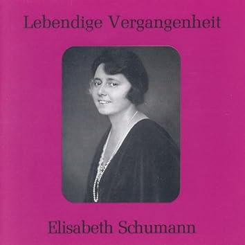 Lebendige Vergangenheit - Elisabeth Schumann