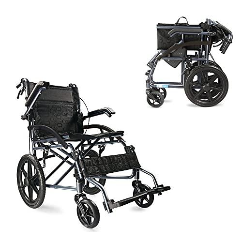 車椅子 超軽量 折りたたみ式 車いす 高齢者 代行車 手押し 車イス 自走用車椅子 旅行用 外出用 背折れタイプ ノーパンクタイヤ