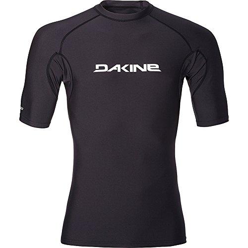 Dakine - Robustes, eng anliegendes, kurzärmliges Surf-Shirt Schwarz - UPF 50+ Sonnenschutz - Boardshort-Anschluss - Flatlock-Nähte