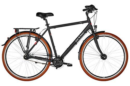 Ortler Monet Herren schwarz matt Rahmenhöhe 52cm 2019 Cityrad