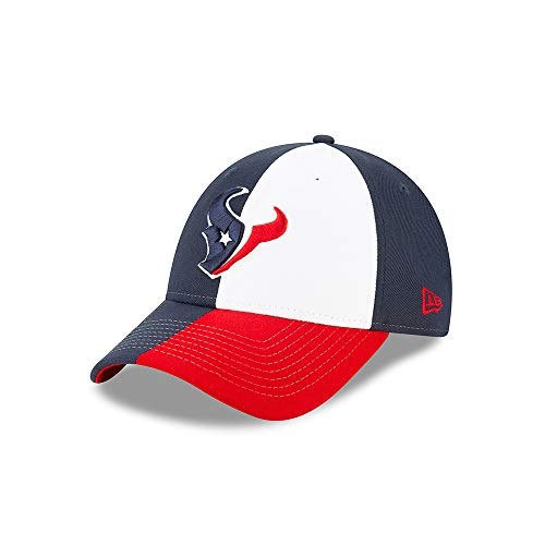 New Era Houston Texans 9forty Adjustable Cap Nfl19 Draft Blue - One-Size