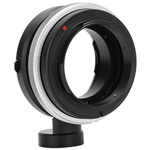Oumij1 Tilt Shift Adapter Ring - Adapterring für Kameraobjektive Geeignet für Nikon F Objektiv bis für Sony E Mount A7 A7R II A6500 A6300 NEX 7 Spiegellose Kamera
