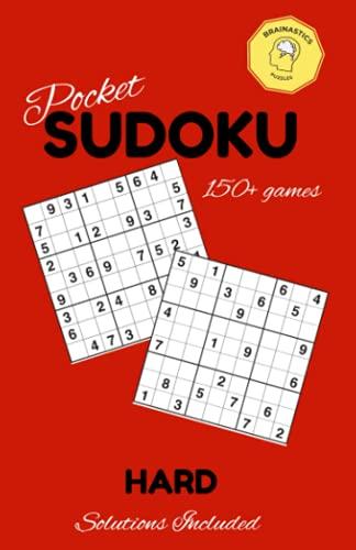 Pocket SUDOKU - HARD: 5x7 Sized Travel Puzzle Book