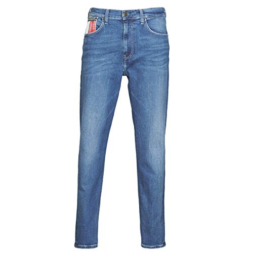 Tommy Jeans Rey Relaxed Tapered Jeans Herren Blau - DE 44 (US 34/34) - Straight Leg Jeans