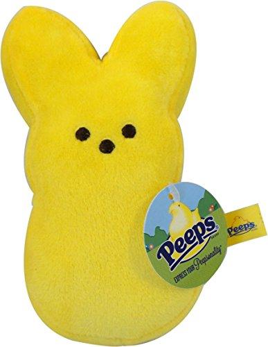 "Peeps Easter Bunny 6"" Bean Bag Plush Toy - Yellow"