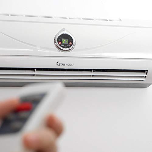 Astan Hogar Calefactor Split PTC Cerámico Programable con Mando a Distancia 2000W,