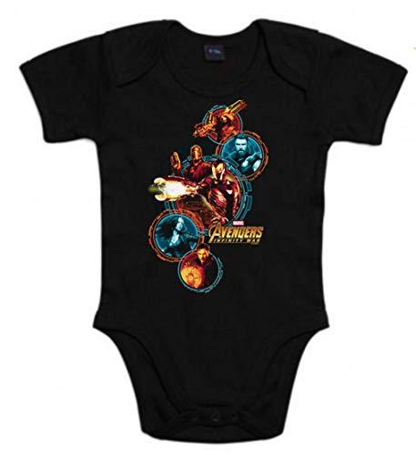 Body Bebé Iron Man Septiembre- 2021 - Bebé Mimos / Ropa De Bebé