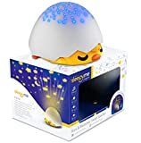 SleepyMe Smart Sleep Soother | White Noise Sound Machine | Baby & Toddler Star Projector | Baby Gifts | Portable Sleep Aid Night Light with 10 Songs for Crib | Shusher Sound Machine for Kids