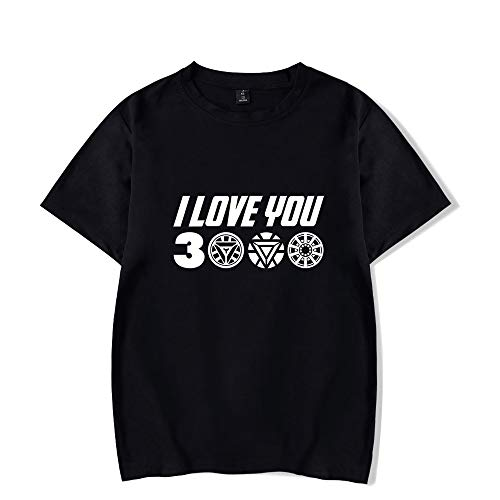 Juego Avengers End Game, Camisa de Iron Man, papá I Love You 3000 Camiseta de Stark Avengers para Hombres, Mujeres y jóvenes.