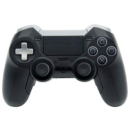 Chou Contrôleur de Console de Jeu Elite pour PS4 / PC, contrôleur sans Fil Bluetooth pour Manette de Jeu PS4 contrôleur de Console de Jeu Double Vibration Elite