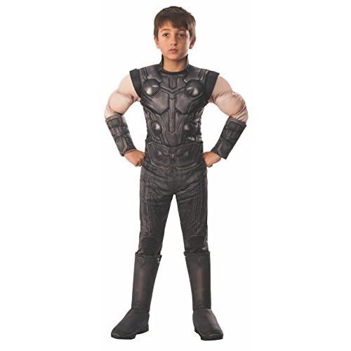 Rubie's, costume ufficiale Avengers Infinity Wars Thor, per bambini, taglia L, età 8-10 anni, altezza 147 cm