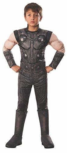 Rubies Avengers - Disfraz de Thor Premium oficial para niños