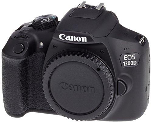 Canon EOS 1300D BLK Body Spiegelreflexkamera schwarz