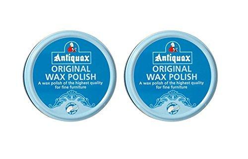 2 x Antiquax Original Wax Polish Fine Furniture Polish Beeswax And Carnauba 100ML (2) by Antiquax