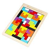 Pinjeer Handguard Tetris Puzzle Niños 1-6 años de Edad Desarrollo Intelectual Juguete Niños y niñas Educación temprana Bloques de construcción Regalos de cumpleaños for niños