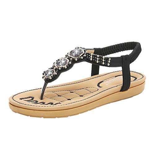 TUDUZ Sneaker Socken Herren Damen Outdoor Sandalen Flache farblich passende Strandschuhe Wandern Wandern Sandalen Geschlossene Ballerinas(Schwarz,35EU)