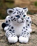 Kit de pintura de diamantes 5D,Leopardo animal blanco y negro Taladro redondo punto de cruz, bordado, artesanía para adultos, niños, para decoración del hogar
