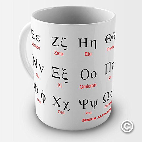 Greek Alphabet Alpha Education Coffee Mug Nevada
