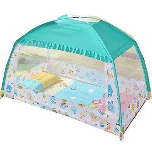 Baby Pop Up Moskitonetz für Bett, tragbare Kinder Anti Moskito Zelt Freistehende Kinderbetten One Touch Zelt Yurt Dome Netze Faltbar für Zuhause, Outdoor