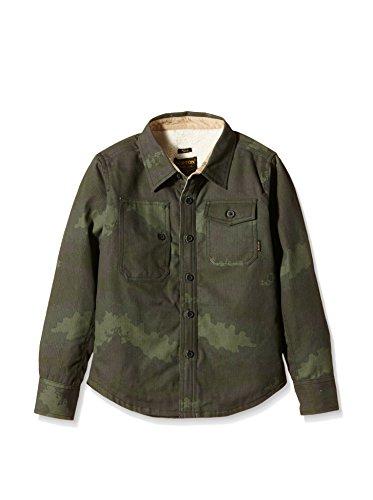 Burton Hemd Camo militärgrün 10-12 Jahre (M)