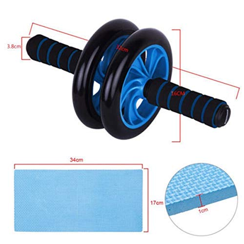 Buy Cheap NOLOGO Xiaoxian Dual ABS Abdominal Wheel AB Roller Exercise Fitness Equipment Workout,