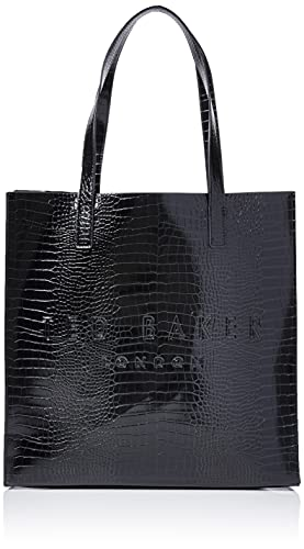 Ted Baker London CROCCON, Icon Bag para Mujer, Black, One Size