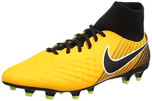 Nike Magista Onda Ii Df Fg, Scarpe da Calcio Uomo, Arancione (Laser Orange/black/white/volt/white), 41 EU (7 UK)