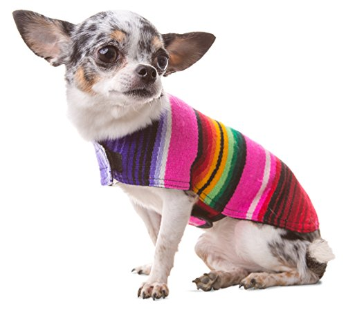 Dog Clothes - Handmade Dog Poncho from Authentic...