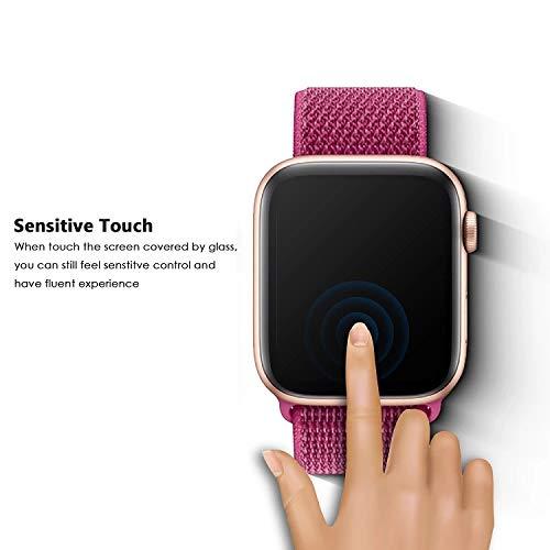 SDTEK *2 Pack 3D Screen Protector Für Apple Watch Series 5/4 40mm Full Screen Protector